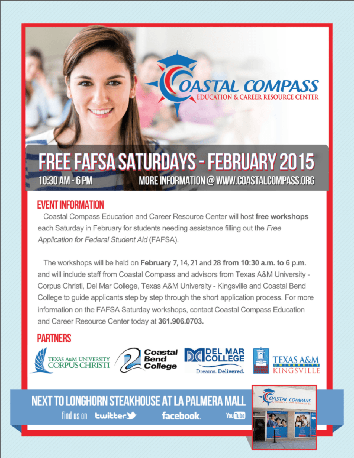 FAFSA Saturdays Return to Coastal Compass This February